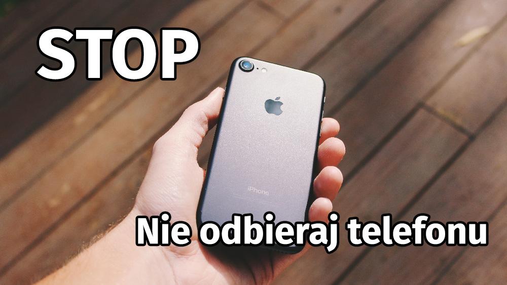 Nie Odbieraj Telefonu, Gdy Jestem Przy Twoim Biurku!