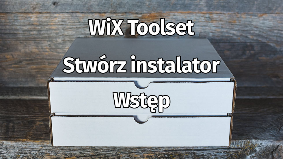 Wix Toolset Wstep Header